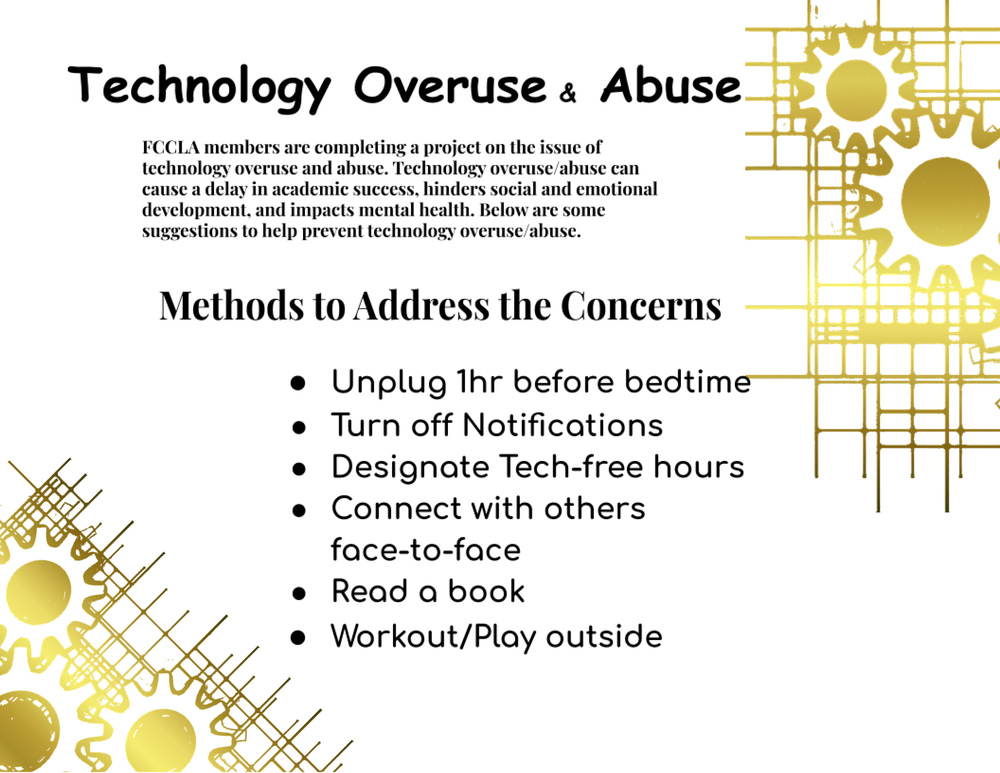Technology Overuse Abuse