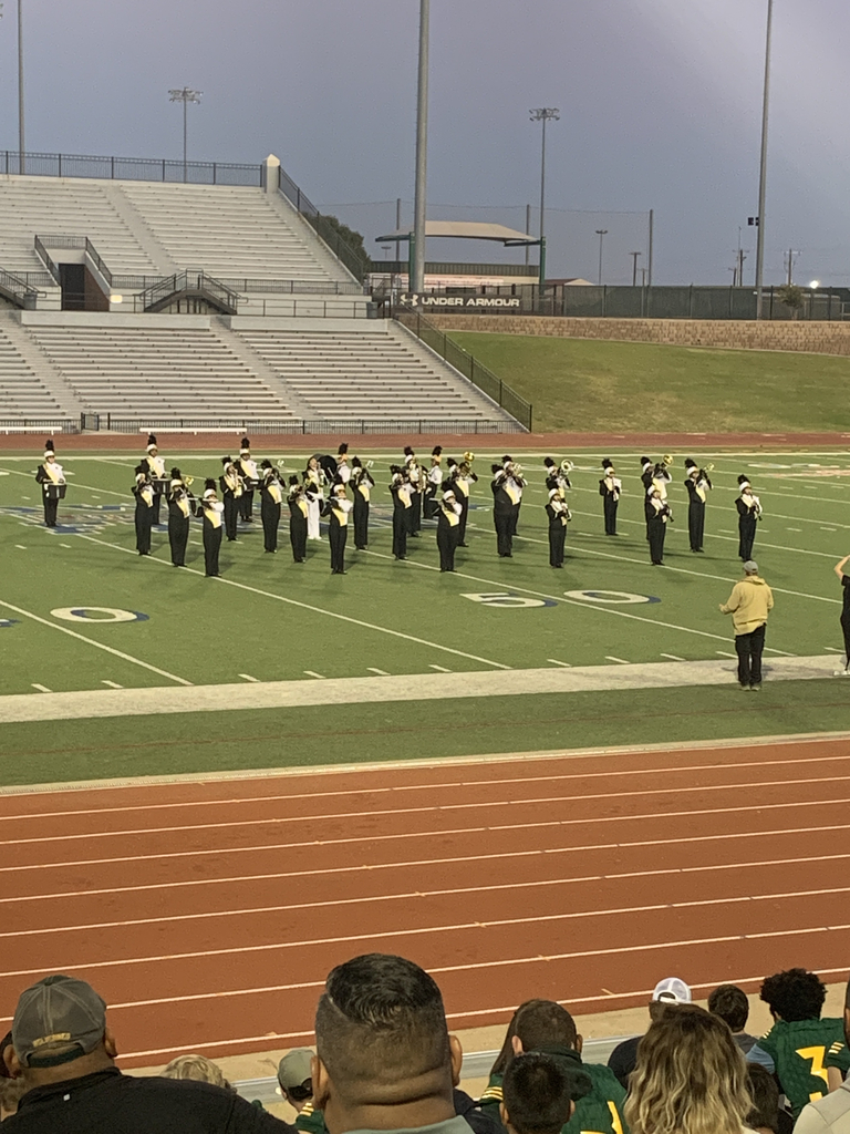 Morton ISD band beginning their performance
