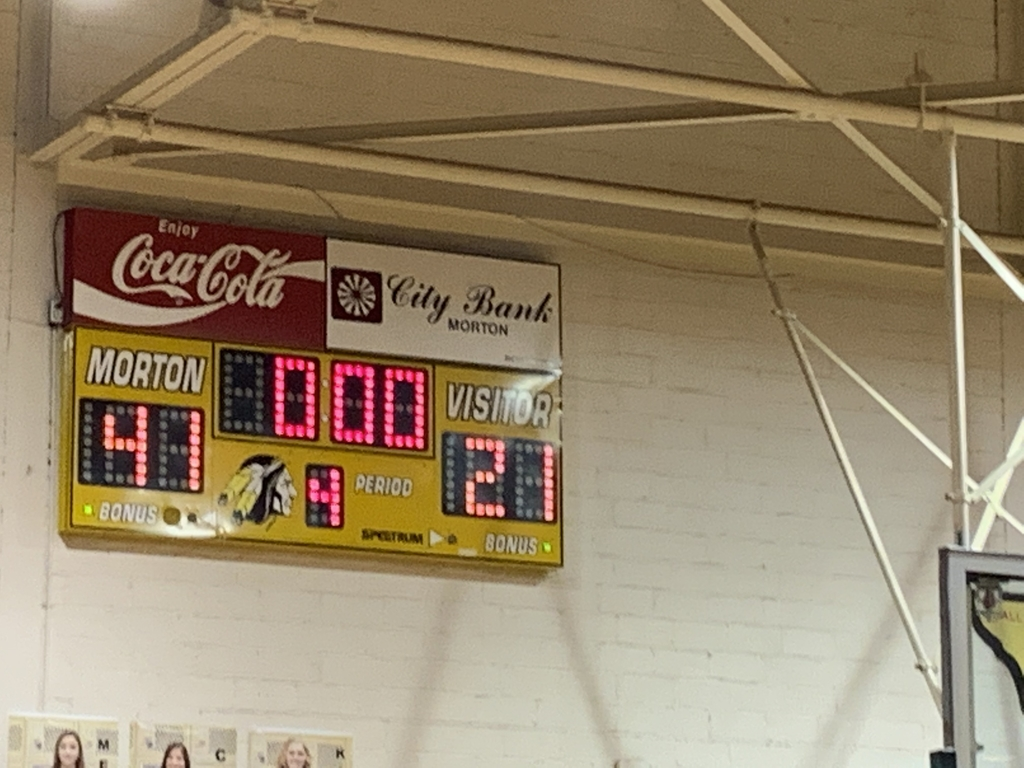 Morton JH Boys B team win!
